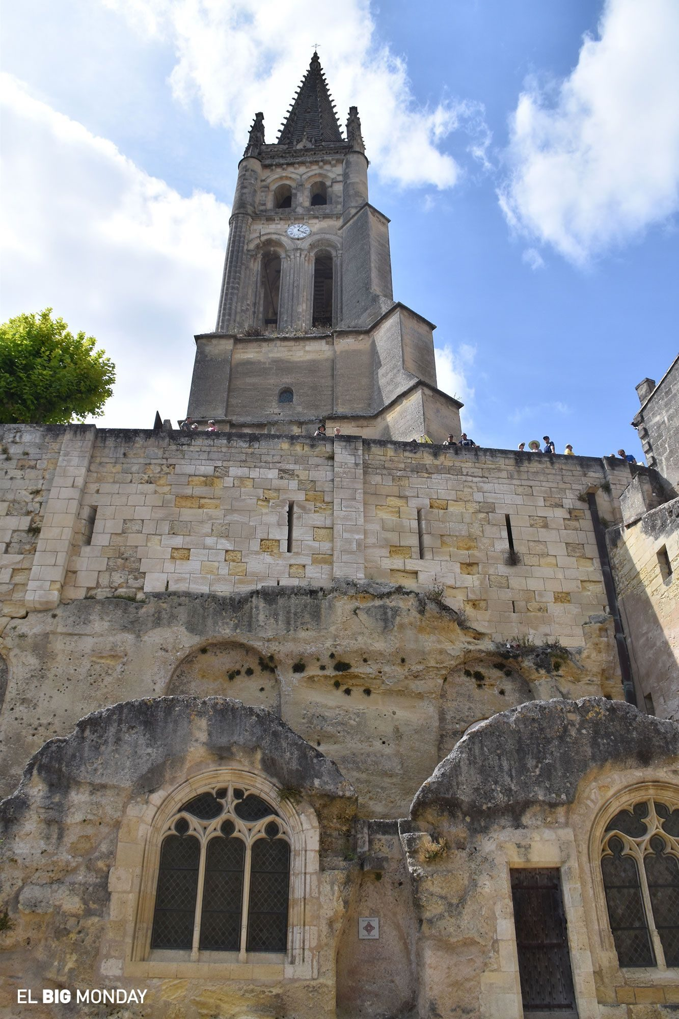 Monolithic Church Saint Emilion