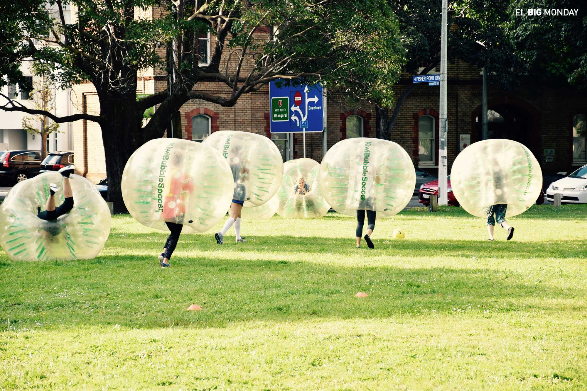 Bubble Soccer in Auckland