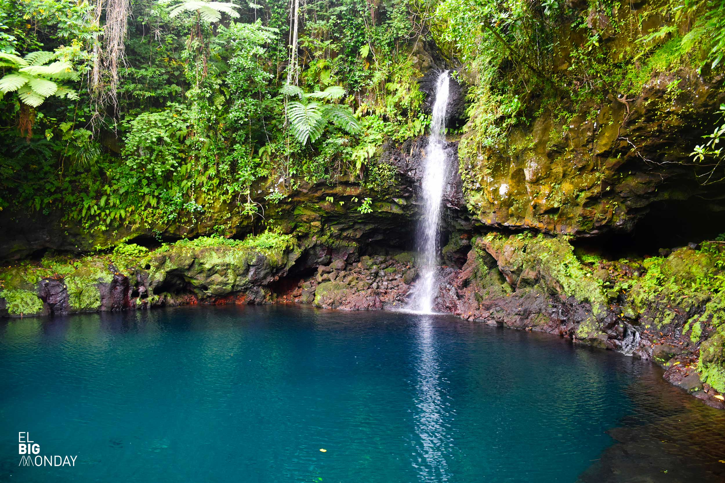 Savaii Waterfall